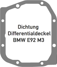 Dichtung BMW E92 M3 Differentialdeckel